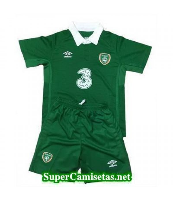 Primera Equipacion Camiseta Irlanda Ninos Eurocopa 2016