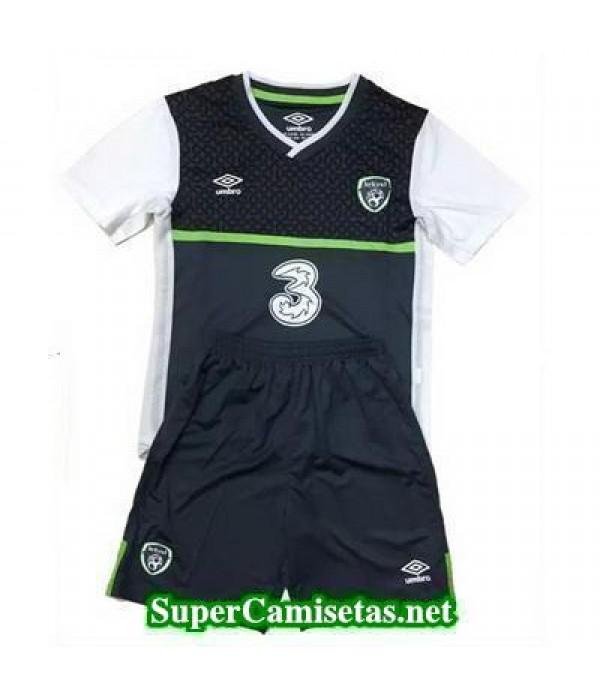 Segunda Equipacion Camiseta Irlanda Ninos Eurocopa 2016