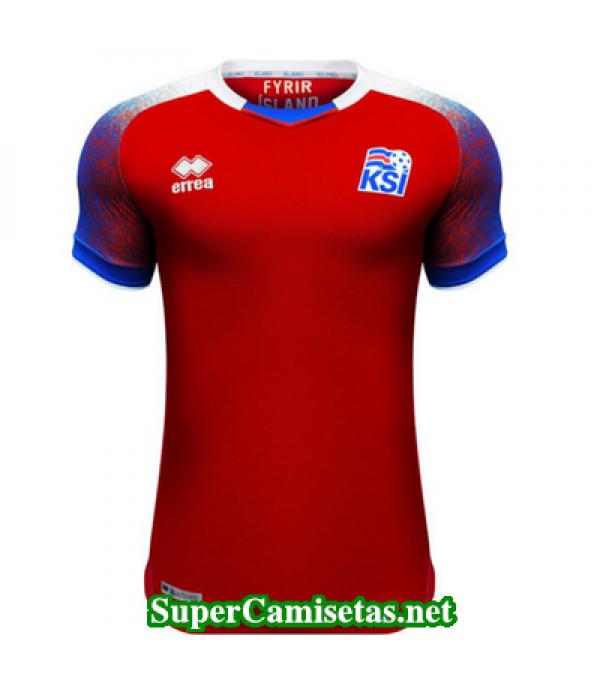 Portero Equipacion Camiseta Islandia 2018 2019