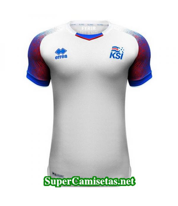 Segunda Equipacion Camiseta Islandia 2018 2019