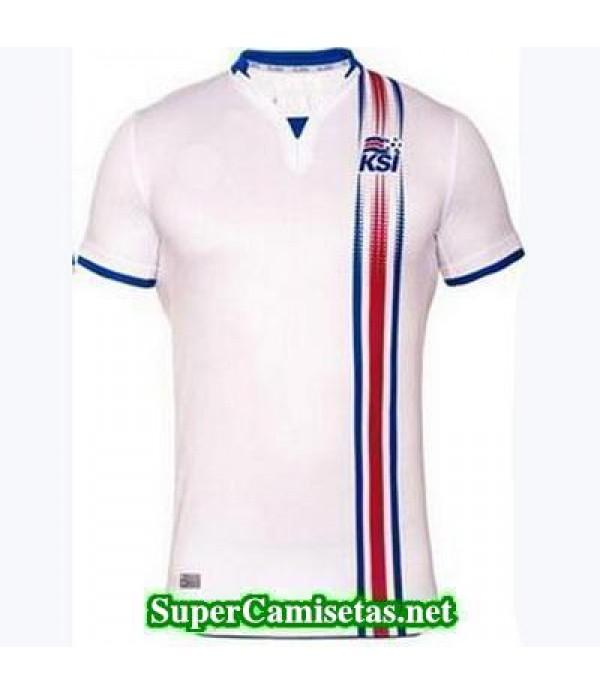 Segunda Equipacion Camiseta Islandia Eurocopa 2016