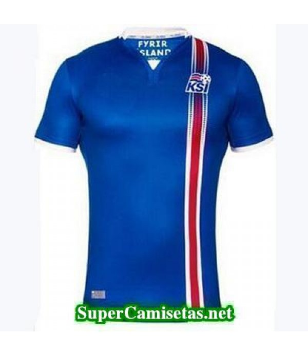 Tailandia Primera Equipacion Camiseta Islandia Eurocopa 2016