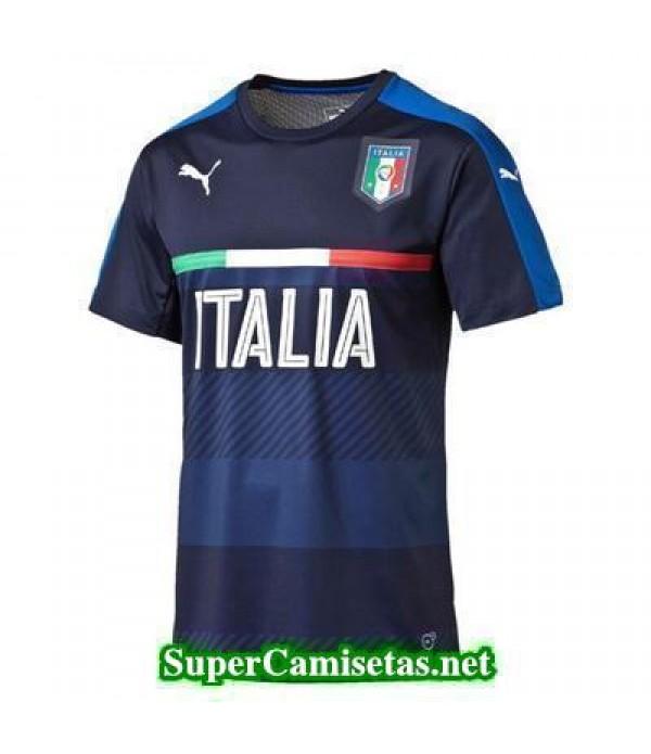 camiseta entrenamiento Italia Azul 2016 2017