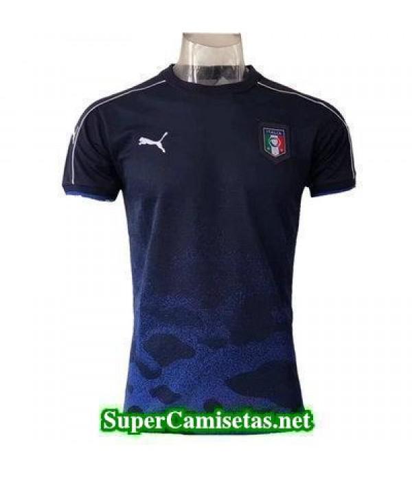 camiseta entrenamiento Italia Azul 2017 2018