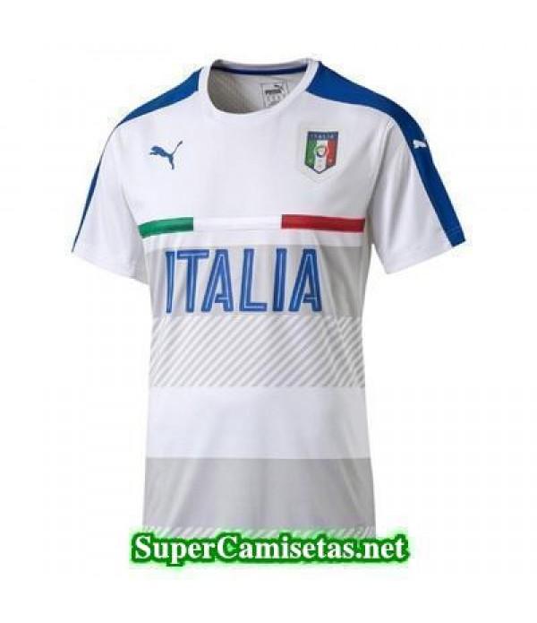 camiseta entrenamiento Italia Blanco 2016 2017