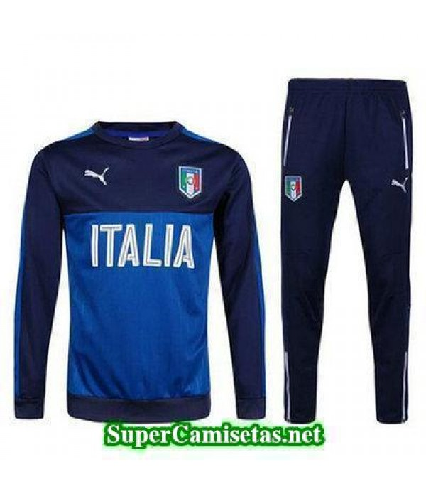 camiseta entrenamiento Italia ML 2016 2017