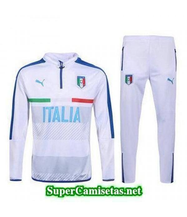 camiseta entrenamiento Italia ML blanco 2016 2017