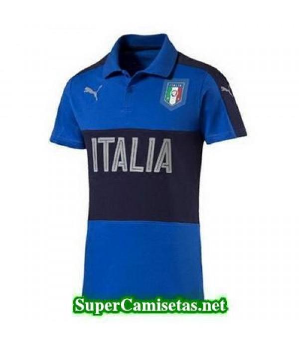 Camiseta polo Italia Azul 2016 2017