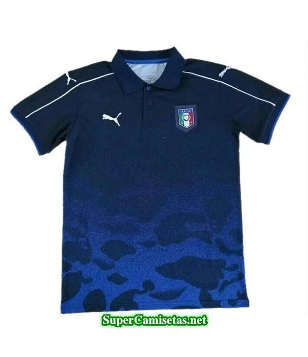 Camiseta polo Italia Azul 2017 2018