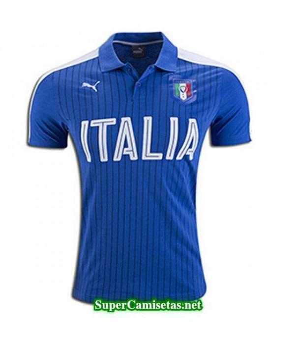 Camiseta polo Italia Azul Eurocopa 2016