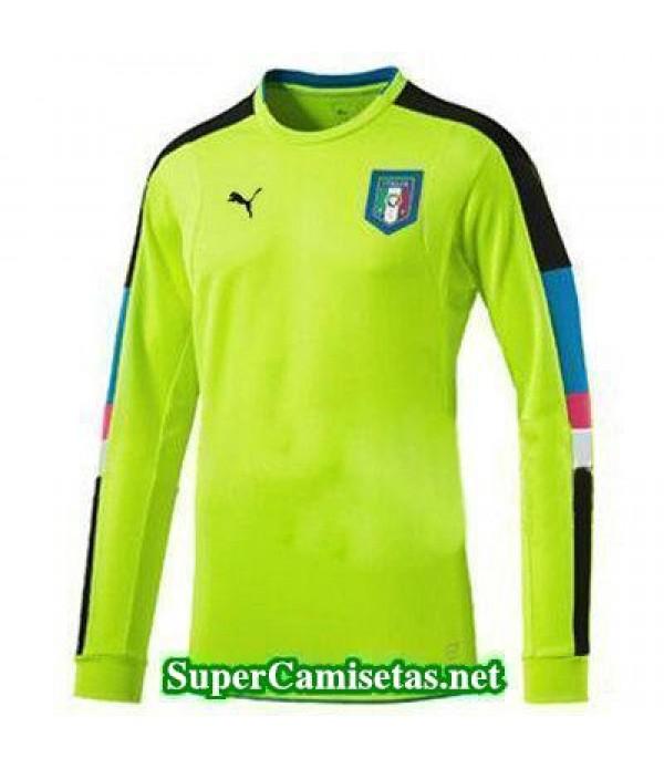Portero Equipacion Camiseta Italia ML 2016 2017