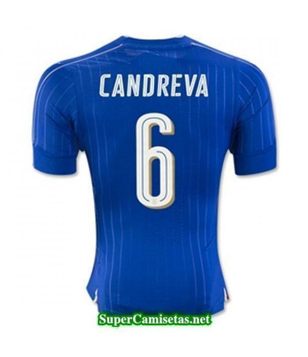 Primera Equipacion Camiseta Italia CANDREVA Eurocopa 2016