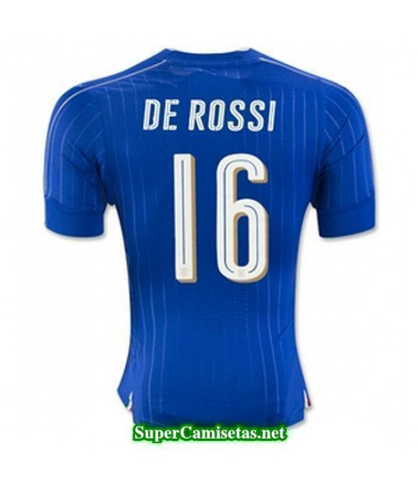 Primera Equipacion Camiseta Italia DE ROSSI Eurocopa 2016