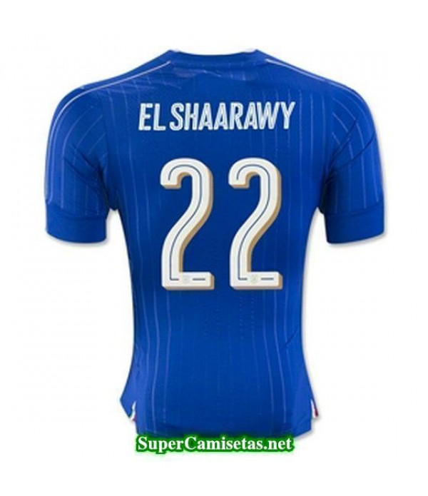 Primera Equipacion Camiseta Italia EL SHAARAWY Eurocopa 2016
