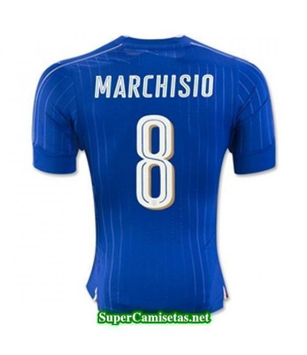 Primera Equipacion Camiseta Italia MARCHISIO Eurocopa 2016