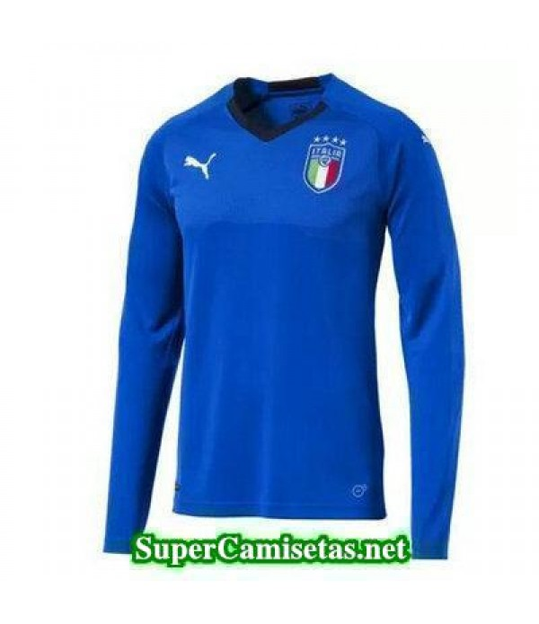 Primera Equipacion Camiseta Italia ML Copa Mundial 2018