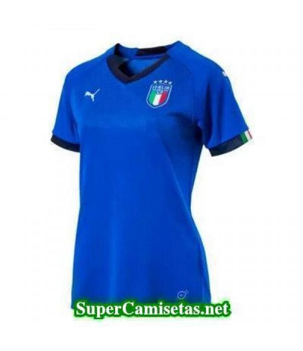 Primera Equipacion Camiseta Italia Mujer Copa Mundial 2018