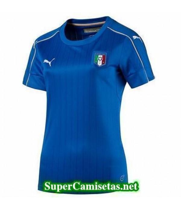 Primera Equipacion Camiseta Italia Mujer Eurocopa 2016