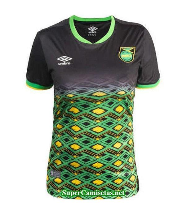 Segunda Equipacion Camiseta Jamaica Mujer Copa Mundial 2019