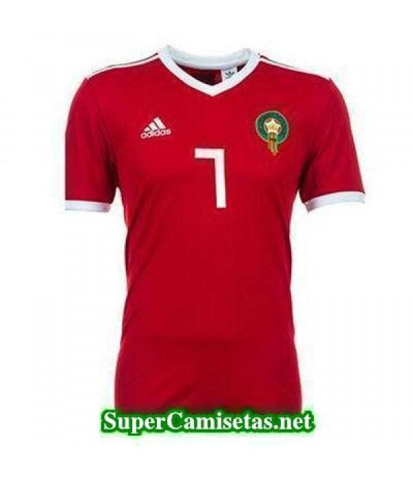 Primera Equipacion Camiseta Marruecos Copa Mundial 2018