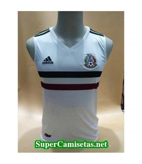 camiseta chaleco Mexico Blanco Copa Mundial 2018