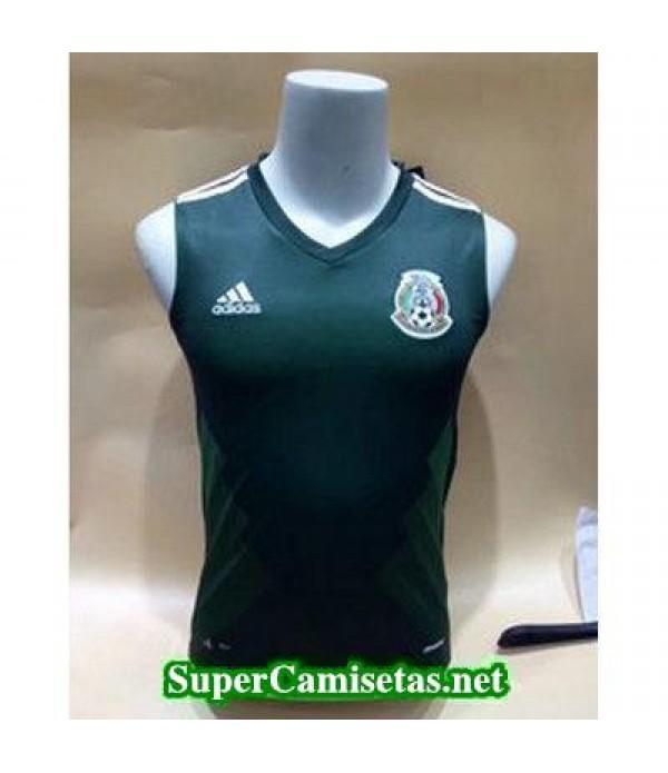 camiseta chaleco Mexico Verde Copa Mundial 2018