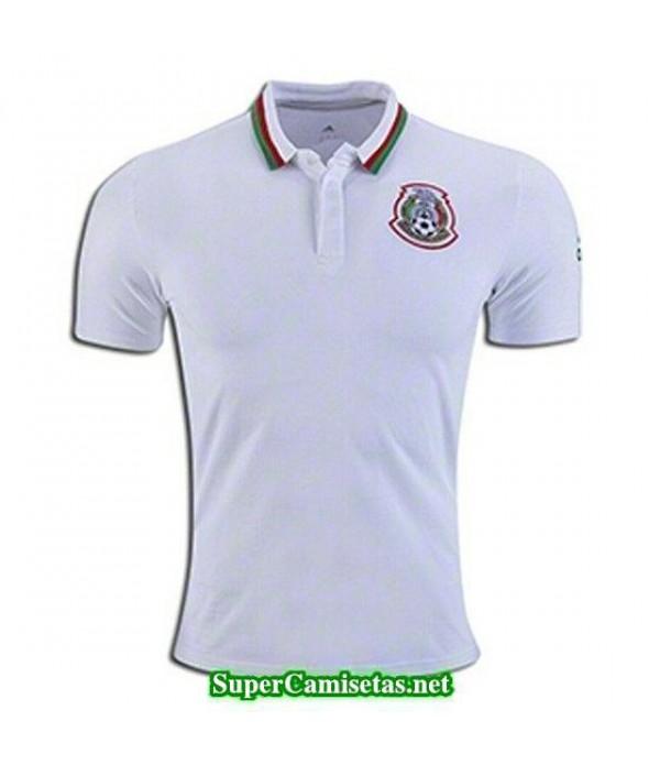 Camiseta polo Mexico Blanco 2016 2017