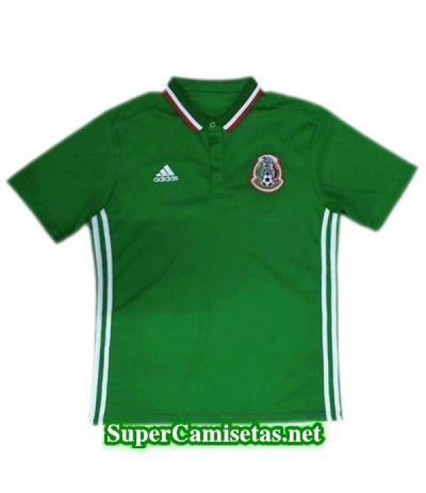 Camiseta polo Mexico Verde 2016 2017