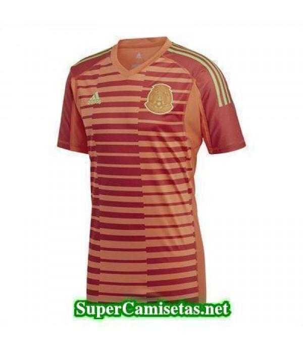 Portero Equipacion Camiseta Mexico Copa Mundial 2018