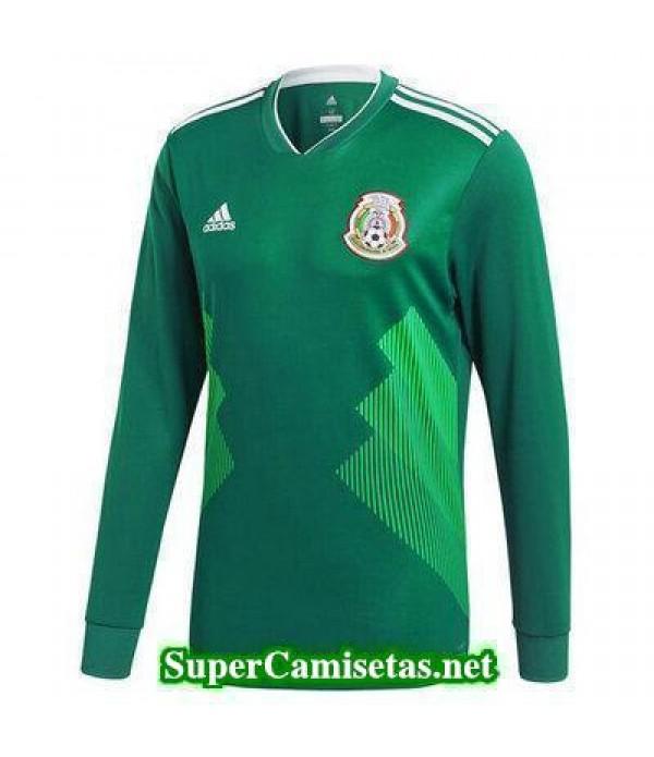 Primera Equipacion Camiseta Mexico ML Copa Mundial 2018