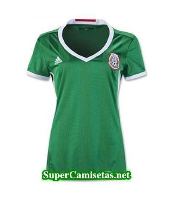 Primera Equipacion Camiseta Mexico Mujer Copa America 2016