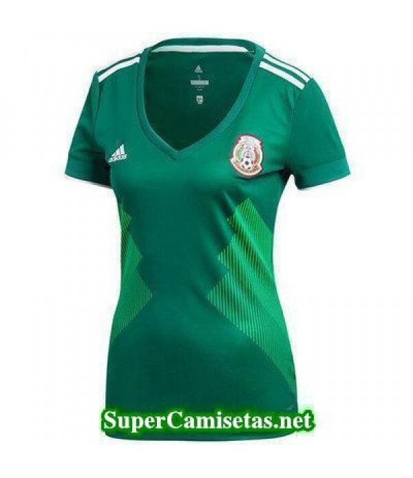 Primera Equipacion Camiseta Mexico Mujer Copa Mund...