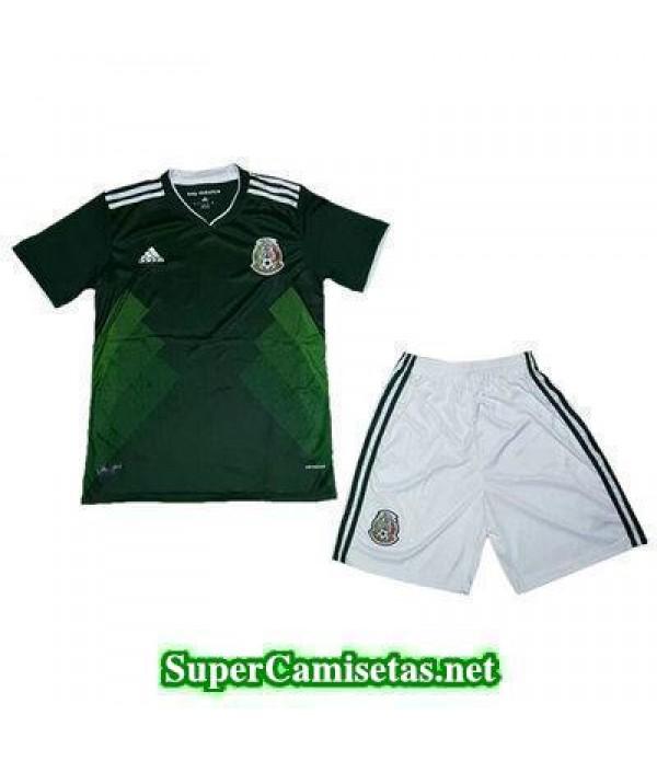 Primera Equipacion Camiseta Mexico Ninos Copa Mund...