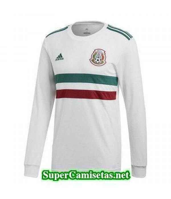 Segunda Equipacion Camiseta Mexico ML Copa Mundial 2018