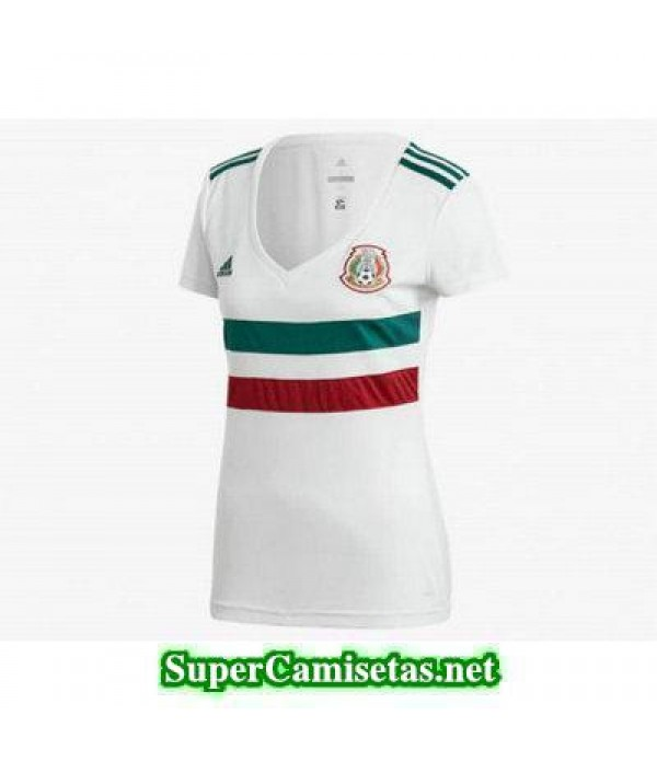 Segunda Equipacion Camiseta Mexico Mujer Copa Mund...