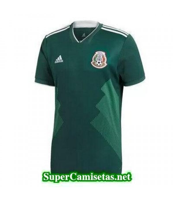 Tailandia Primera Equipacion Camiseta Mexico Copa Mundial 2018