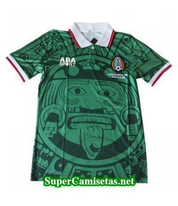 Tailandia Primera Equipacion Camiseta Mexico clasicas 1998