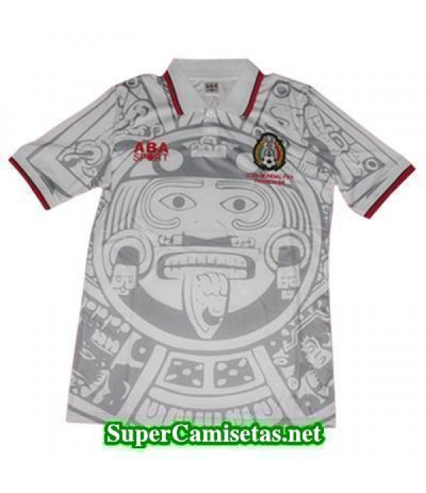Tailandia Segunda Equipacion Camiseta Mexico retro 1998