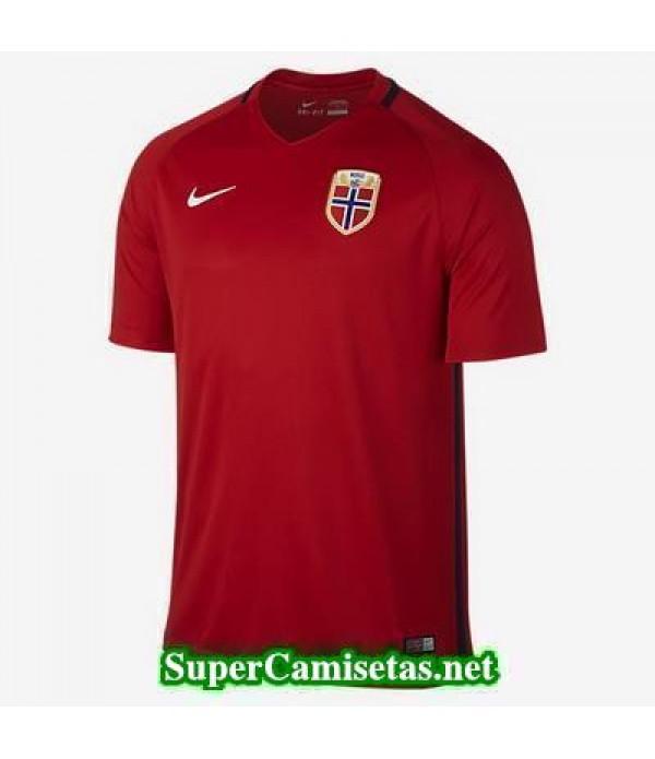 Primera Equipacion Camiseta Noruega Eurocopa 2016
