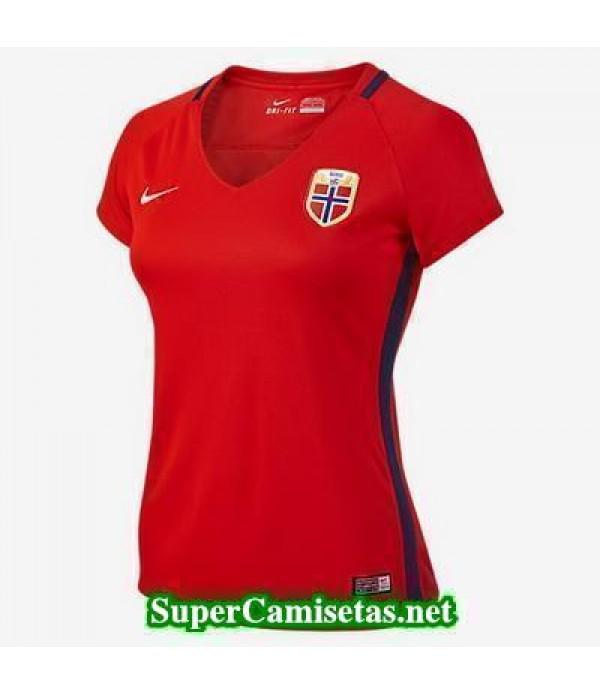 Primera Equipacion Camiseta Noruega Mujer Eurocopa 2016