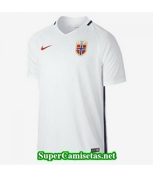 Segunda Equipacion Camiseta Noruega Eurocopa 2016