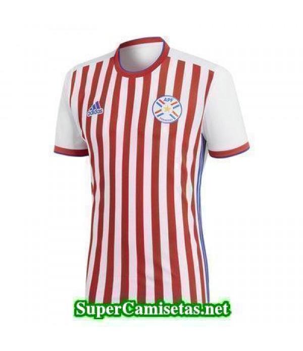 Primera Equipacion Camiseta Paraguay Copa Mundial 2018