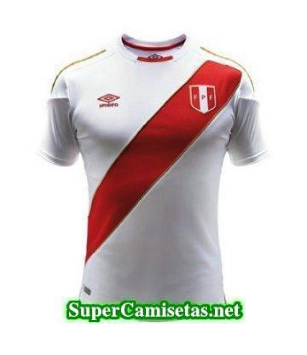 Primera Equipacion Camiseta Peru Copa Mundial 2018