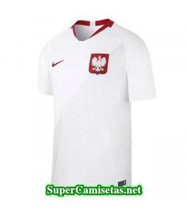 Primera Equipacion Camiseta Polonia Copa Mundial 2018