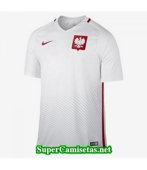 Primera Equipacion Camiseta Polonia Eurocopa 2016