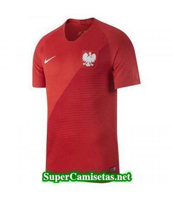 Segunda Equipacion Camiseta Polonia Copa Mundial 2018