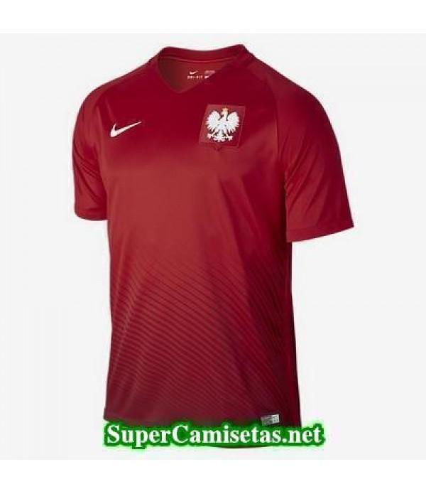Tailandia Segunda Equipacion Camiseta Polonia Eurocopa 2016