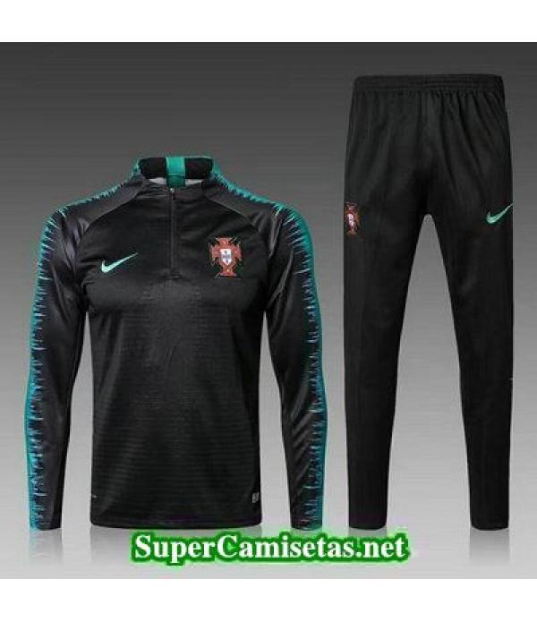 Camiseta entrenamiento Portugal ML Negro-01 2018 2019
