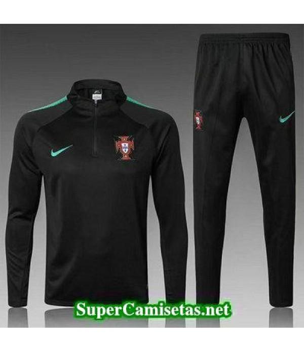 Camiseta entrenamiento Portugal ML Negro 2018 2019