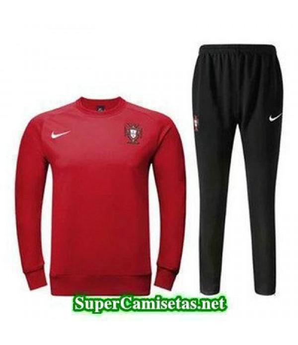 camiseta entrenamiento Portugal ML rojo 2016